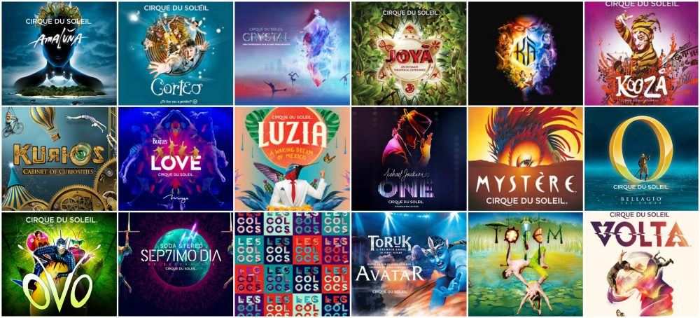 cirque du soleil italiano  Cirque du Soleil Italia 2018, due tappe a Novembre e a Febbraio 2019